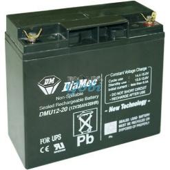 bateria  recargable  12 v 17 a/ h