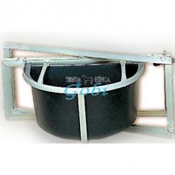 Comedero pared fuerte giratorio (con barras antivuelco)
