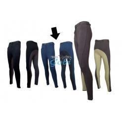 pantalon algodon bicolor unisex