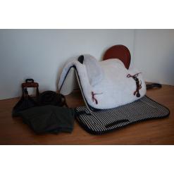 silla vaquera ,fibra completa