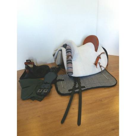 silla vaquera mixta modelo rejoneo