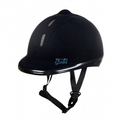 casco terciopelo ajustable