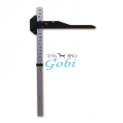 hipometro  aluminio   medidor  potros